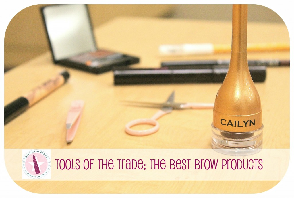Tools of the Trade: The Best Brow Products