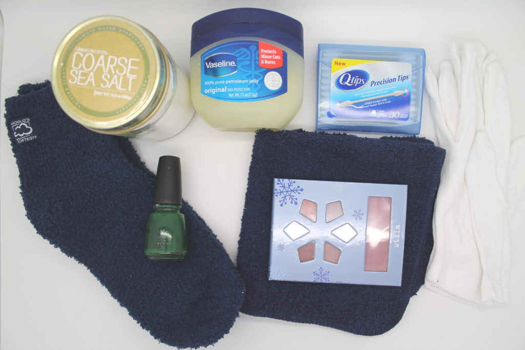 DIY Vaseline Body Scrub featured by top DC beauty blogger, The Beauty Minimalist
