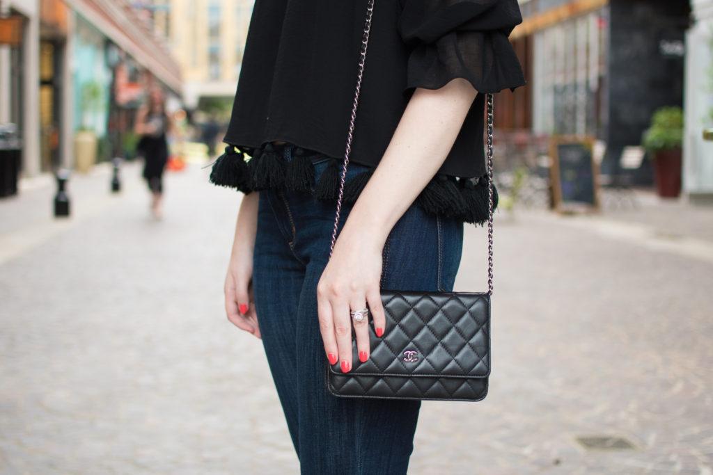 Kara Ferguson Beauty and Style Blogger Off-the-shoulder top - Politics of Pretty
