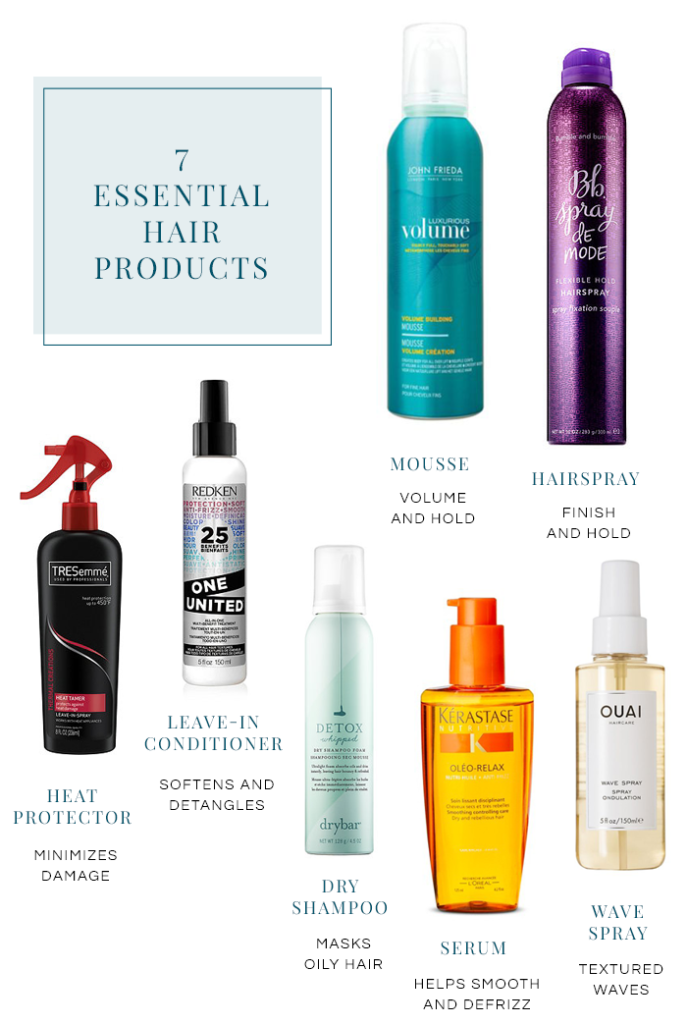 7 essential hair products I can't live without