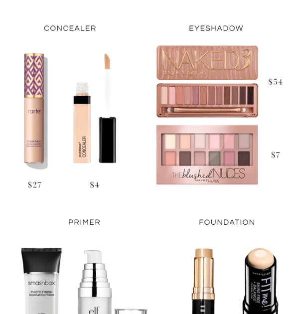 Top 10 Best Makeup Dupes featured by top MD beauty blogger, The Beauty Minimalist