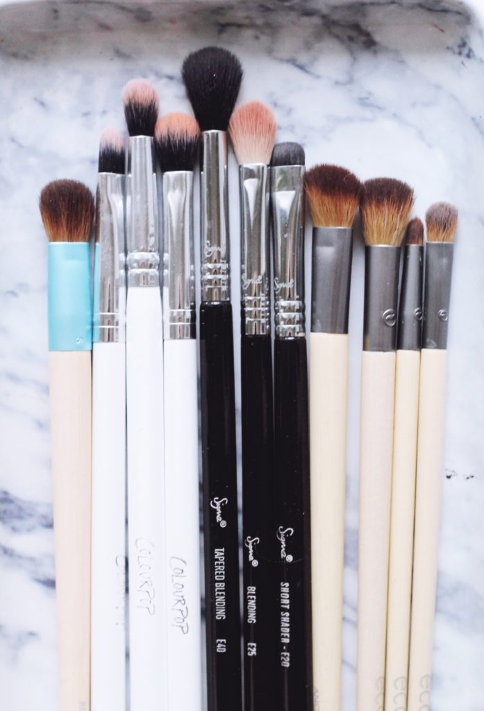 My favorite makeup brushes for eyes and face via @politicspretty