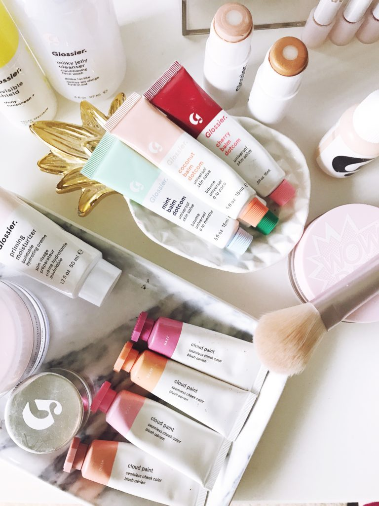 Best Glossier Makeup Products featured by top MD beauty blogger, The Beauty Minimalist