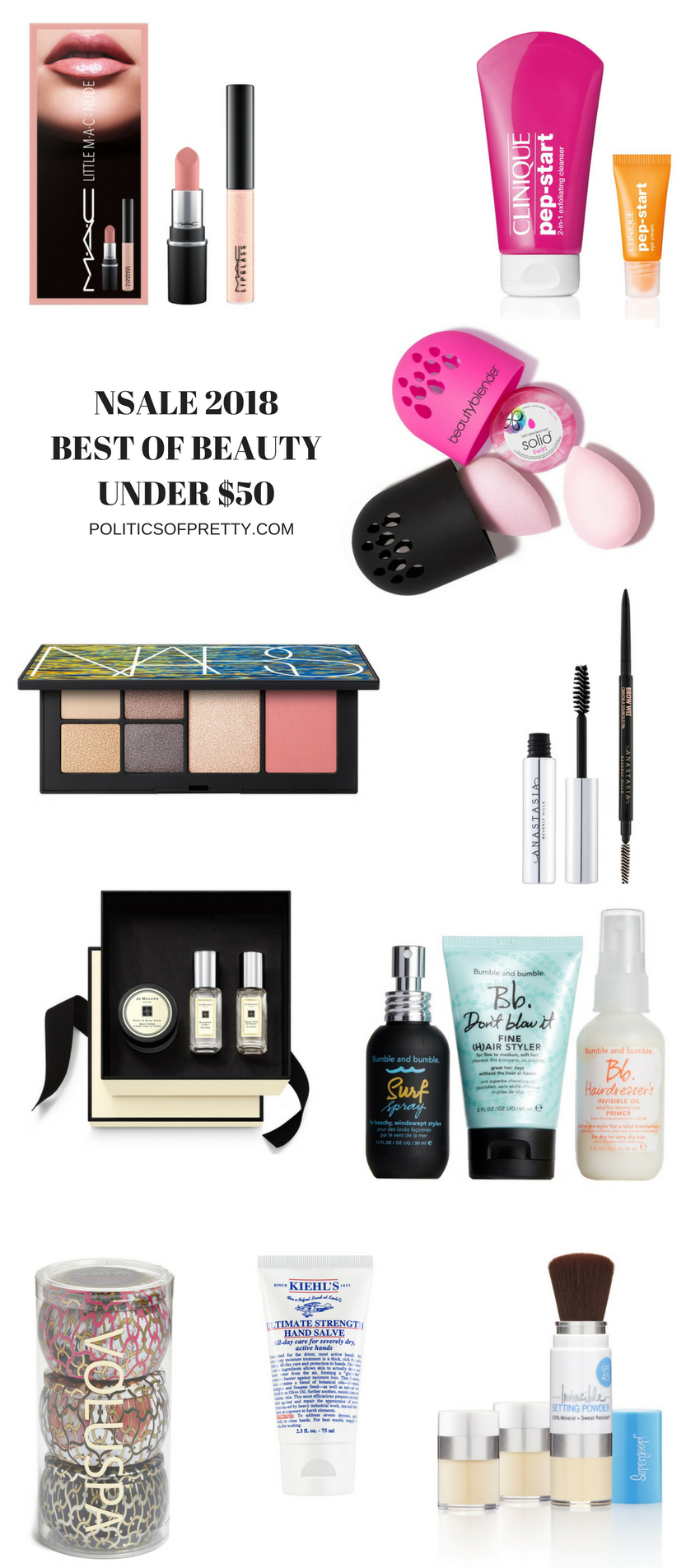 Nordstrom Beauty Exclusives under $50, beauty on a budget dc beauty blogger #nsale2018