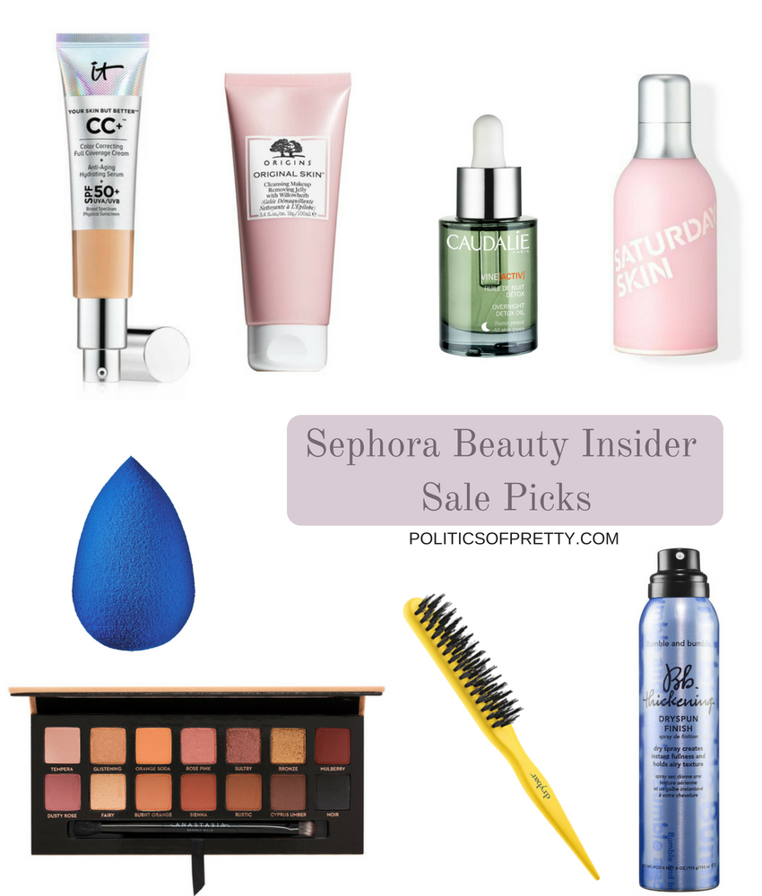 Sephora Beauty Insider Sale makeup and skincare picks