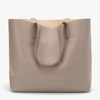 The Best Leather Tote Bags from Madewell, Cuyana and Everlane featured by top DC fashion blogger, The Beauty Minimalist: Cuyana Classic Tote