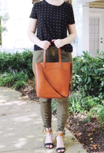 Madewell Medium Leather Tote Bag Review