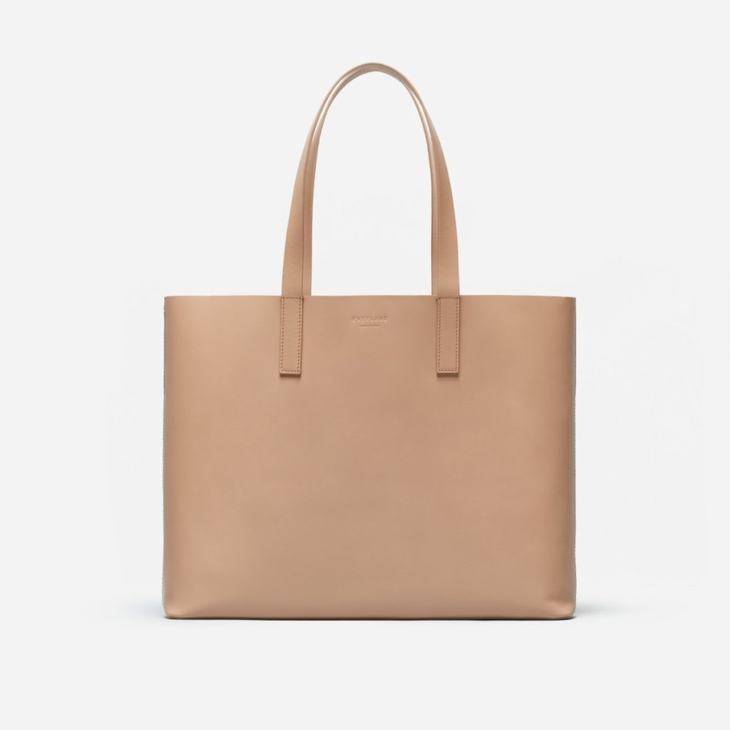 The Best Leather Tote Bags from Madewell, Cuyana and Everlane featured by top DC fashion blogger, The Beauty Minimalist