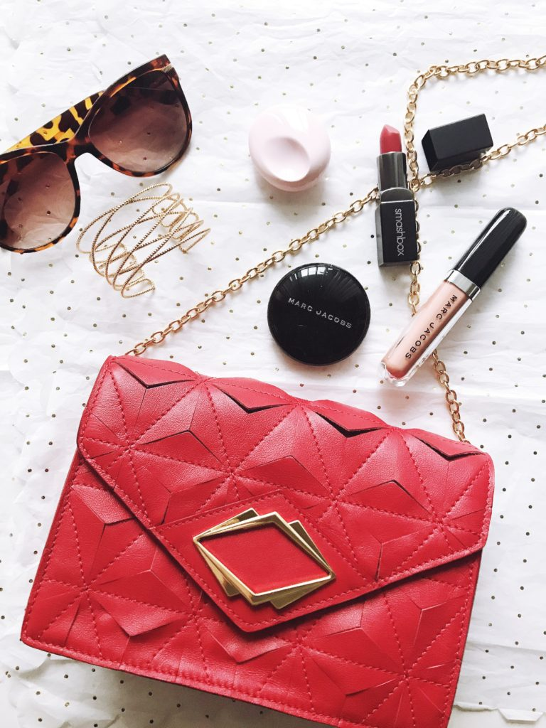 GG Maull Outlaw Clutch in Lipstick Red review