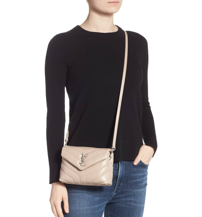 Designer handbag wish list YSL Toy Loulou cross body bag