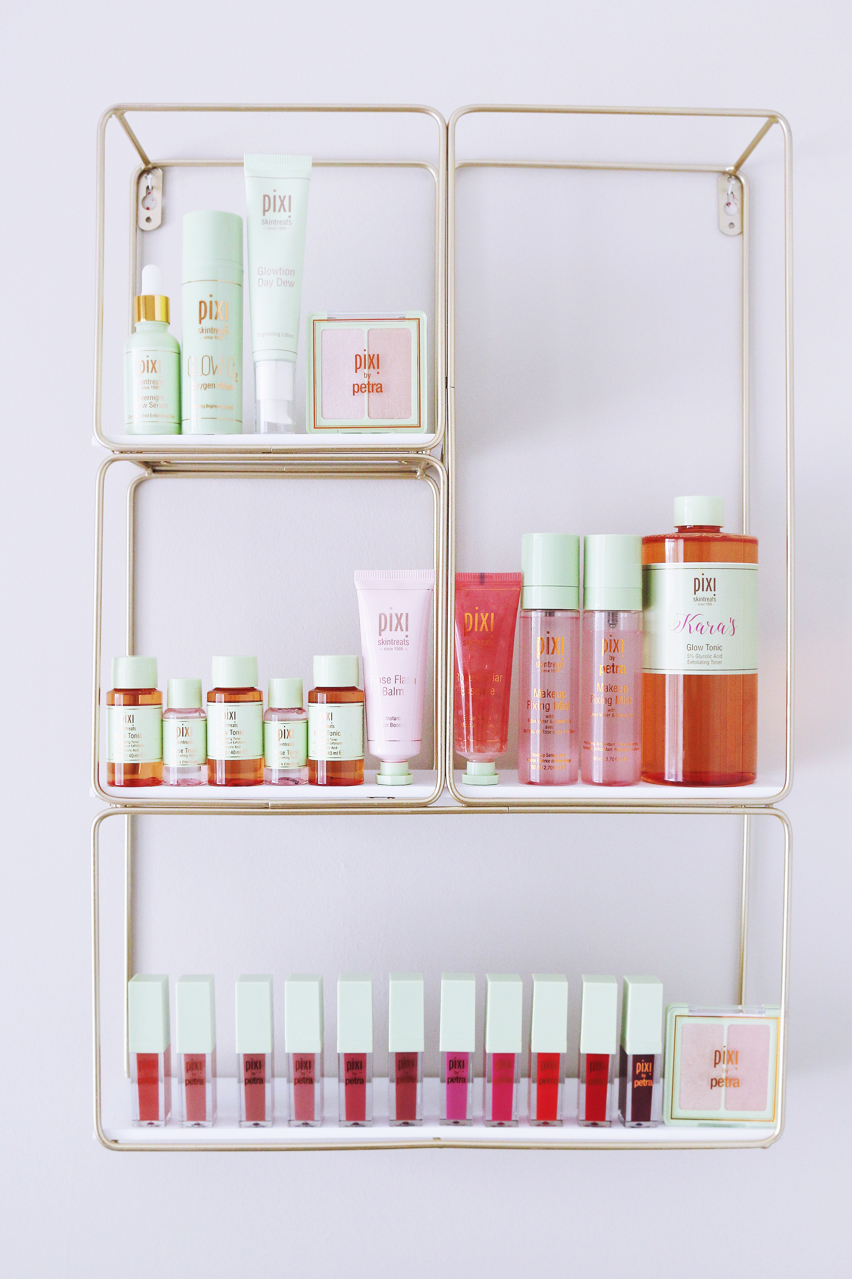 My Favorite Pixi beauty skincare and makeup products