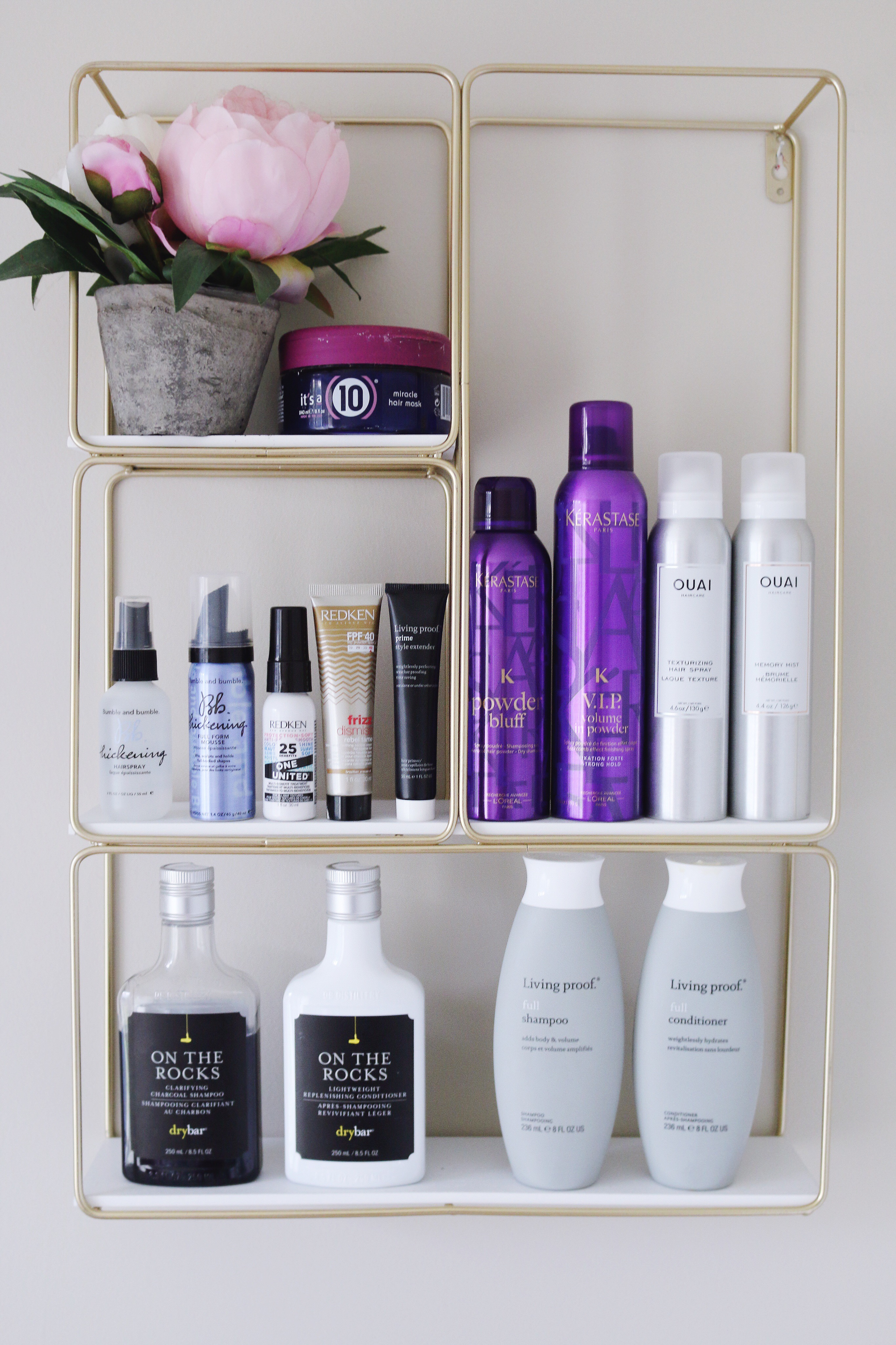 My complete haircare routine and favorite products