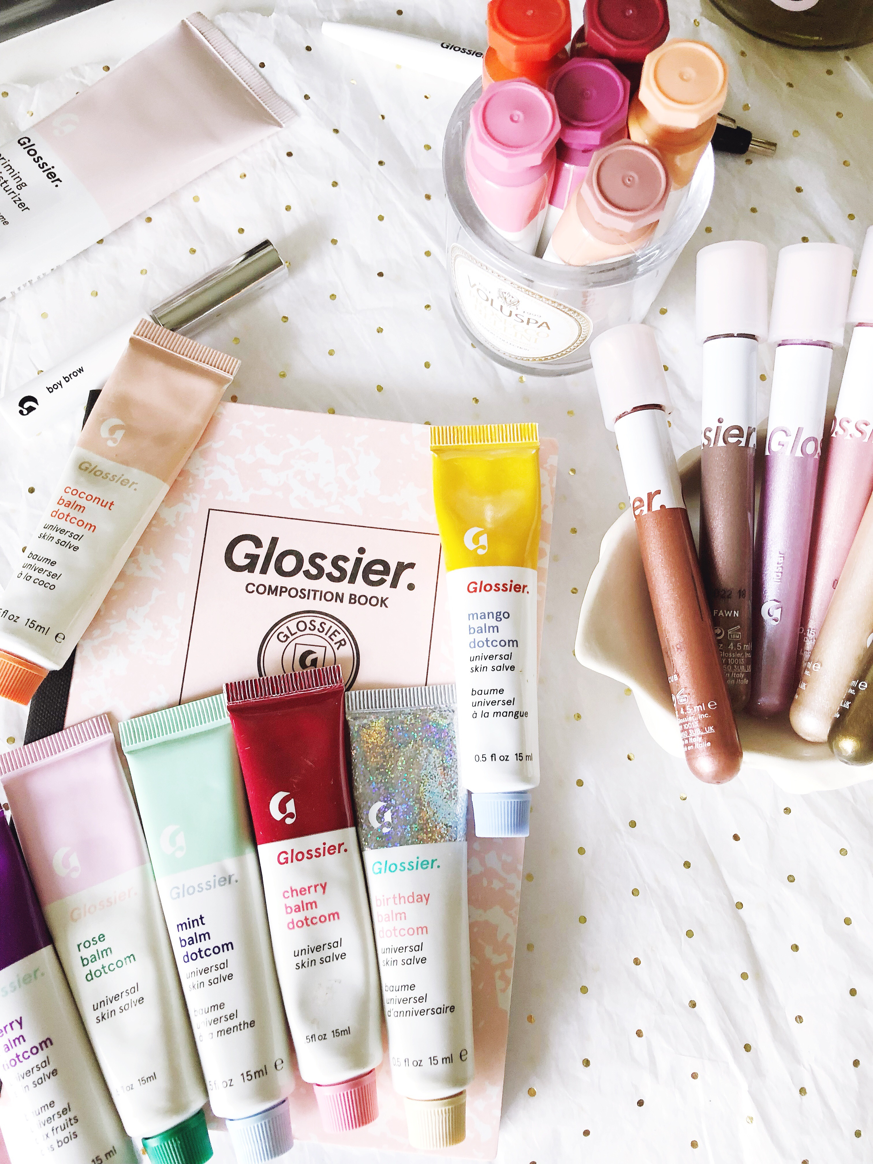 Ranking My Favorite Glossier Makeup Shades via Politics of Pretty
