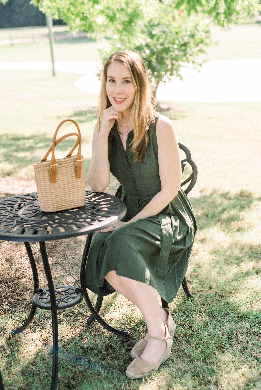 Kara Ferguson, Blogger, Politics of Pretty in Gal Meets Glam dress