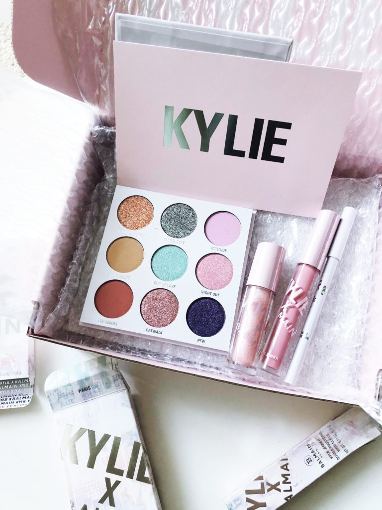 Kylie x Balmain Collection Review & Swatches