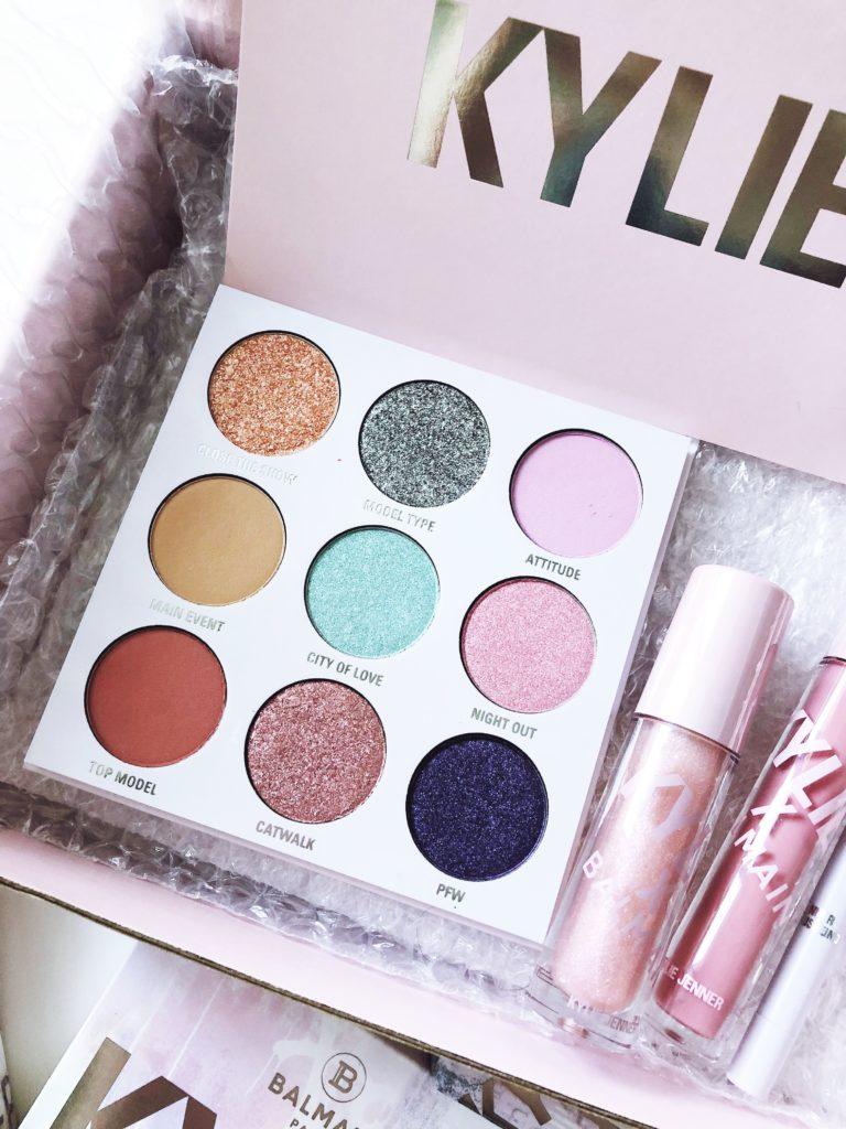 Kylie x Balmain Eyeshadow Palette