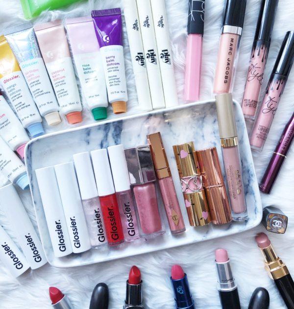 Sharing my entire lipstick and lip gloss inventory via Politics of Pretty