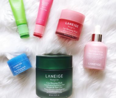 Laneige Skincare Review: Cica Sleeping Mask, Glowy Makeup Serum, Lip Glowy Balm