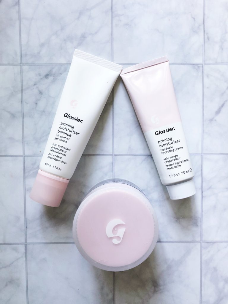 Glossier Priming Moisturizer Balance Review featured by top DC beauty blogger, The Beauty Minimalist