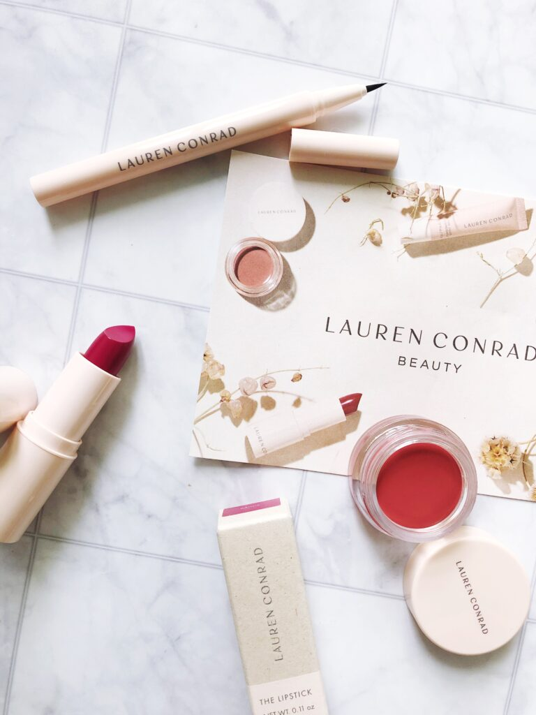 Lauren Conrad Beauty review and swatches of the eco-friendly makeup line