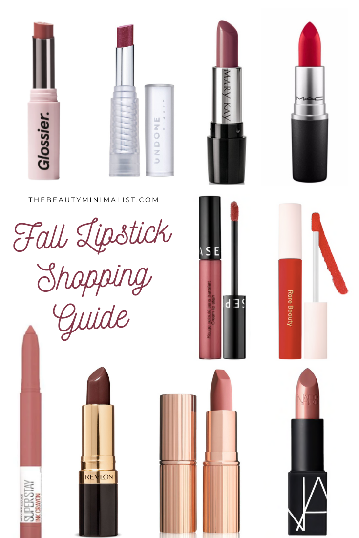 Fall Lipstick Shopping Guide for every budget via The Beauty Minimalist
