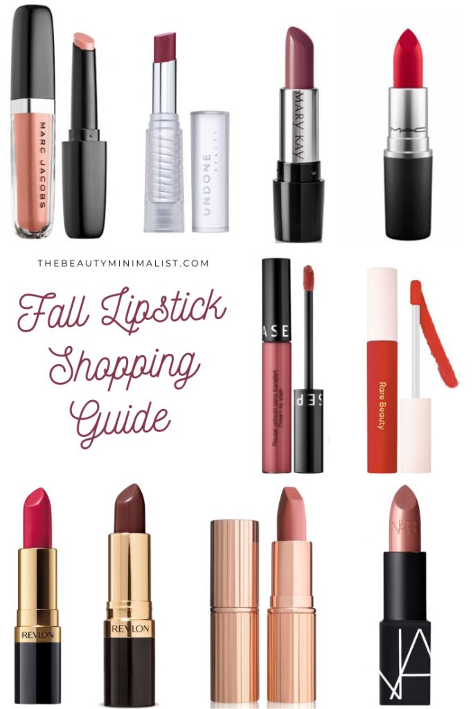 Fall Lipstick Shopping Guide