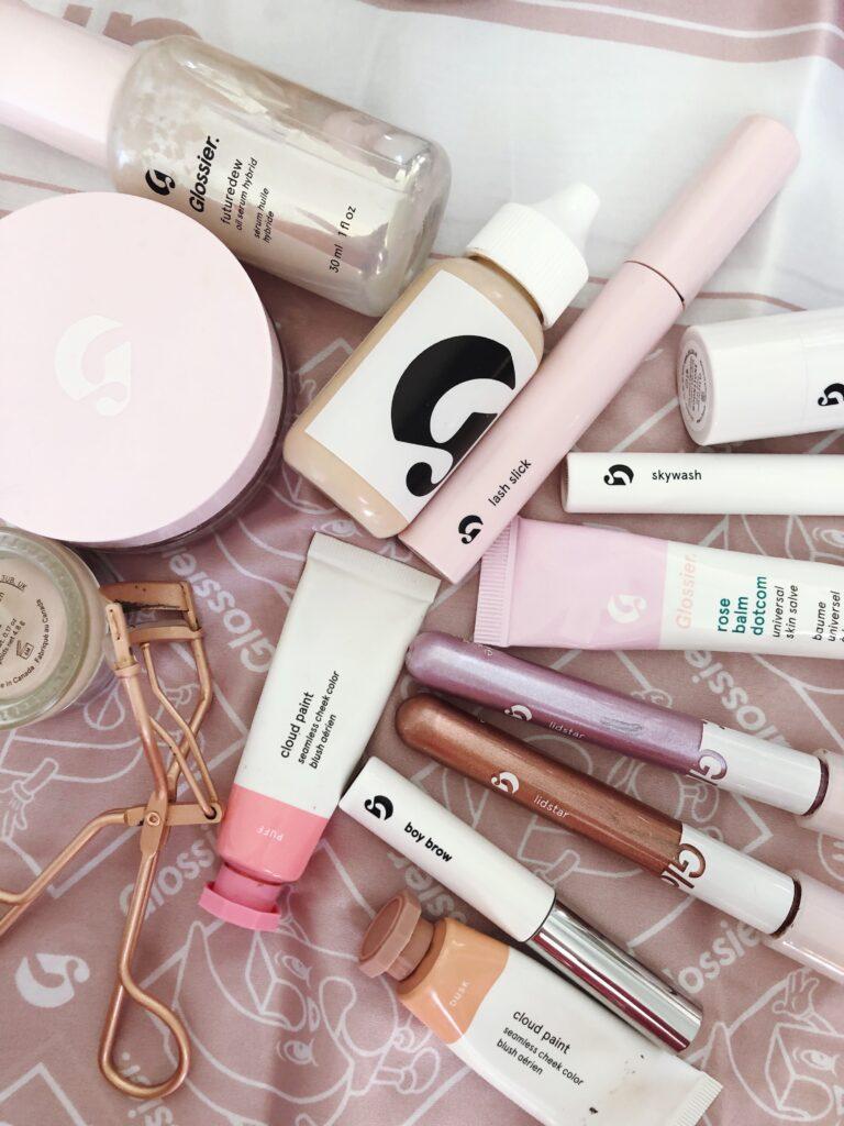 Glossier winter makeup tutorial