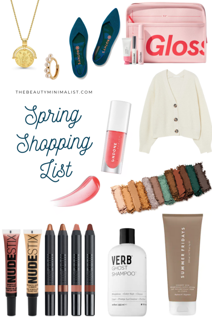 Must-have clothing, beauty and accessories on my 2021 Spring Wish List!