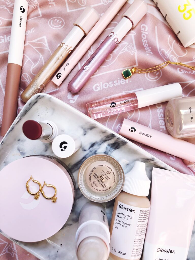 Glossier makeup for the beauty minimalist