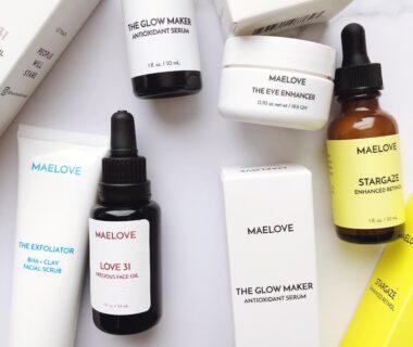 Maelove Skincare Review via The Beauty Minimalist